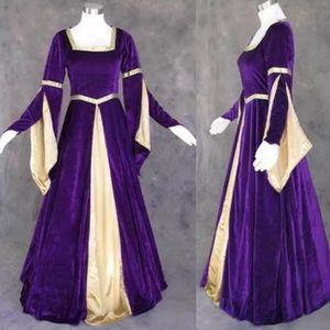 Custom Made Velvey Renaissance Gown and Cape